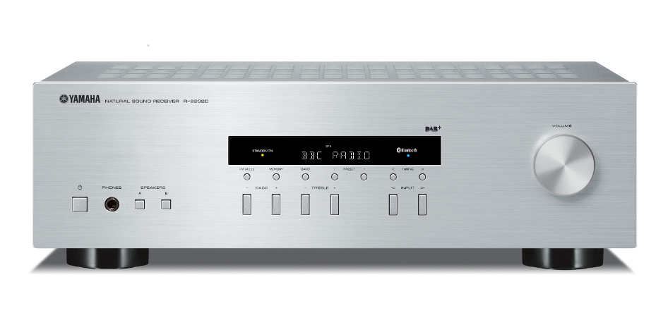 yamaha r s202d rs202d stereo receiver with dab dab radio price rms hi fi home. Black Bedroom Furniture Sets. Home Design Ideas